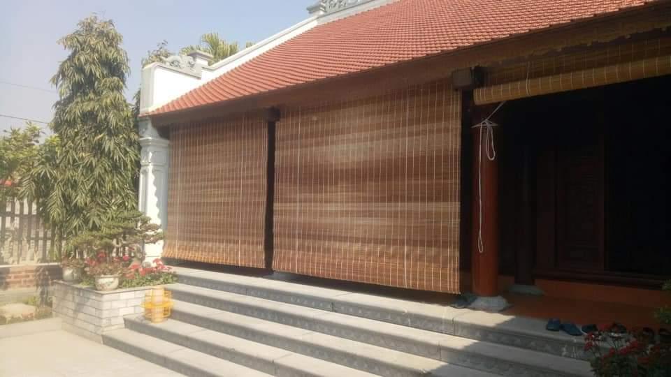 Mành tre trúc chống nóng Quảng Ninh
